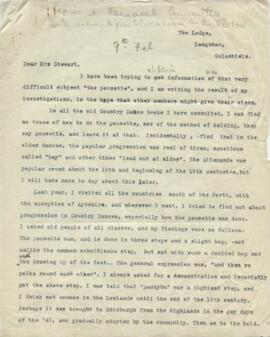Letters from Ion C B Jamieson to Ysobel Stewart