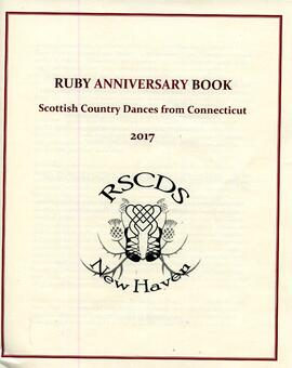 Ruby Anniversary Book of Scottish Country Dances from Connecticut
