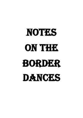 Notes on the Border Country Dances