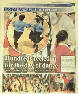 Helensburgh Advertiser Report on Day of Dance 12 March 2015