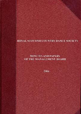 Minutes and Papers of Management Board Meetings 2004