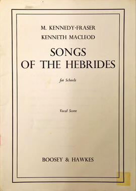 Songs of the Hebrides for Schools