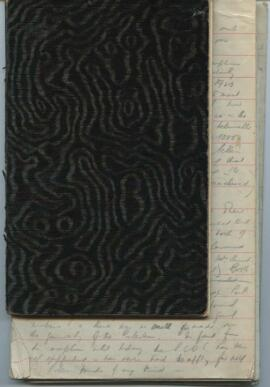 Notebook belonging to Jean Milligan