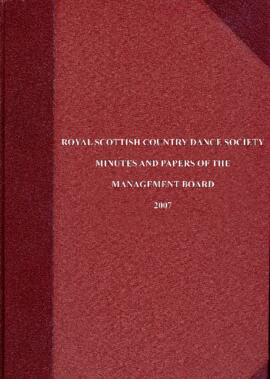 Minutes and Papers of Management Board Meetings 2007