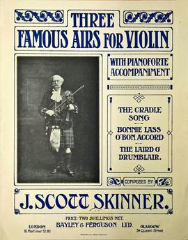 Three Famous Airs for the Violin