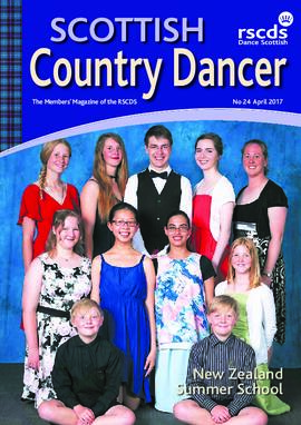 Scottish Country Dancer Vol 24 April 2017