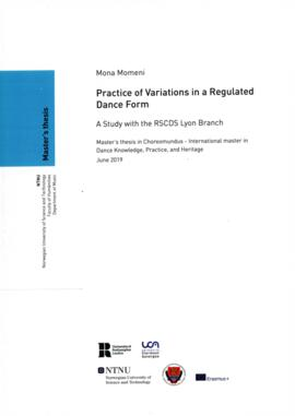 Practice in Variations in a Regulated Dance Form