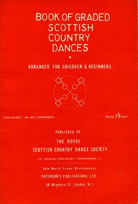 Book of Graded Scottish Country Dances