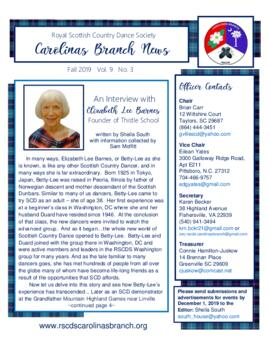 The Carolinas Branch News