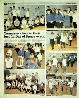 Kilmarnock Standard 28 November 2014 report on East Ayrshire School's Day of Dance
