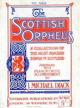 The Scottish Orpheus Volume III