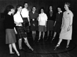 Photograph of Aberdeen University SCD Class in Progress