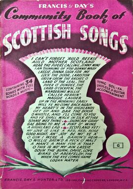 Community Book of Scottish Songs