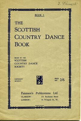 The Scottish Country Dance Book - Book 3