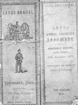 Largs Volunteer Assembly 1873