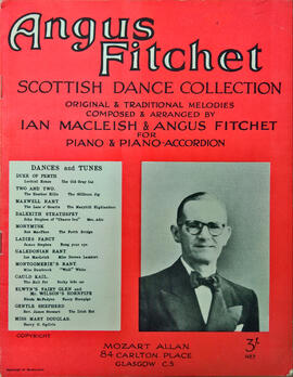 Angus Fitchet Scottish Dance Collection