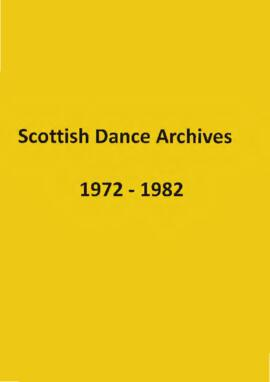 Scottish Dance Archives Leaflets