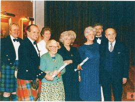 Photograph of group at an Aberdeen Branch Event