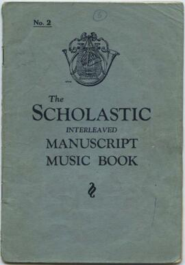 Music notebook belonging to Jean Milligan
