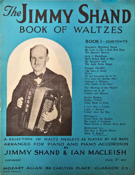 The Jimmy Shand Book of Waltzes Book1