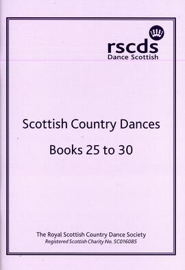 Scottish Country Dances Books 25 to 30