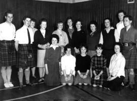 Photograph of Aberdeen University SCD Members