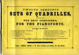 Sets of Quadrilles