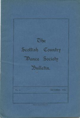 Bulletin No 6 October 1934