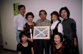 Photograph of members of the Tokyo branch Committee