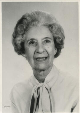 Photograph of Margaret Parker, Chairman 1982 - 1985
