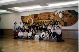 Photogtaph of members of the Tokyo branch