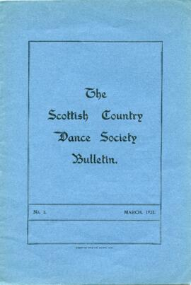 Bulletin No 3 March 1933