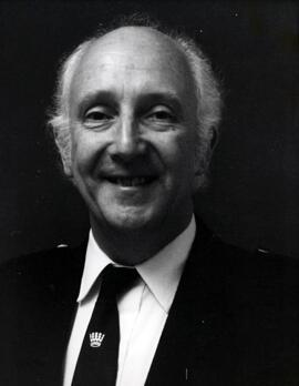 Photograph of Dr William A Miller, Chairman of Teachers Association (Canada) 1986 - 1987