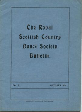 Bulletin No. 32, October 1954