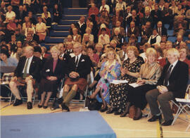 Photograph of the Scroll recipients at the AGM 1999