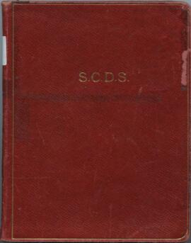 Minute book of the Propaganda Sub Committee of the Scottish Country Dance Society