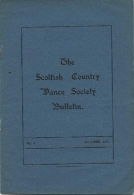 Bulletin No 4 October 1933