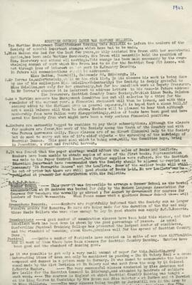 War Economy Bulletin June 1942