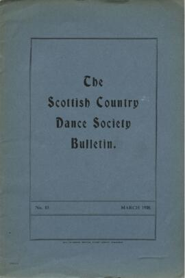 Bulletin No. 13, March 1938