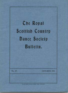 Bulletin No. 37 October 1959