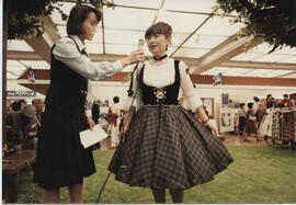 Photograph taken at the Scottish Village Fair in Japan.