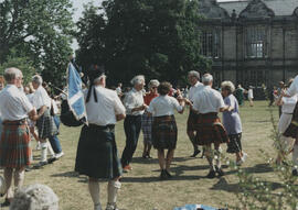 Photograph of dancers taking part in Dancing in the Streets 1994