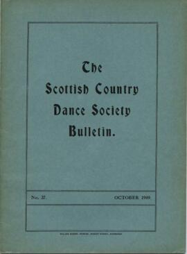 Bulletin No. 27 October 1949