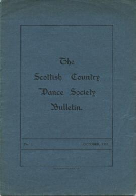 Bulletin No 2 October 1932