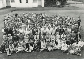 Photograph of a group of teachers, musicians and participants at Summer School
