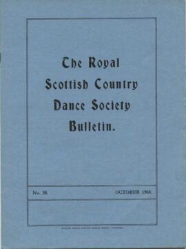 Bulletin No. 38 October 1960