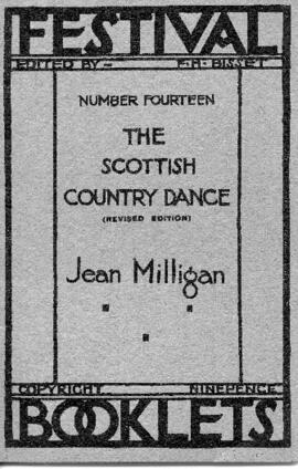 The Scottish Country Dance, Festival Booklets Number 14, edited by F.H. Bisset.