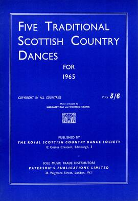 Five Traditional Scottish Country Dances for 1965