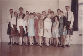 Photograph of the Teacher's Certificate class at Summer School
