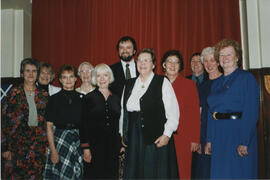 Photograoph of the Scroll recipients at AGM 2000